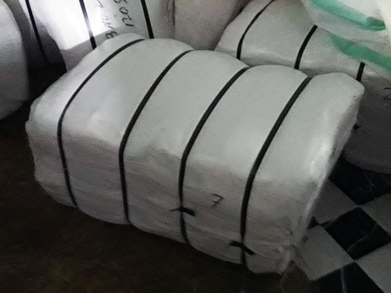15 Kg PP cloth covered compressed bale